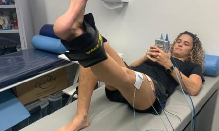 Gabriela Mazetto se recupera de lesão