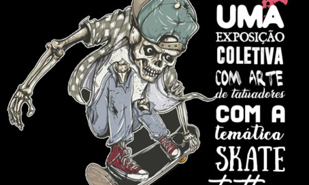 Skate Arte Homenagem em São Paulo