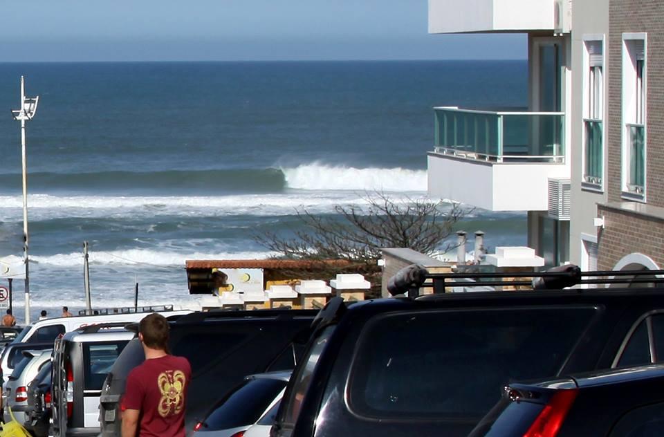 Praia do Santinho, palco da Copa Costão do Santinho Fecasurf SCQS 6000 / Foto Basílio Ruy
