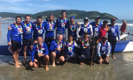 TriboQPira vence a 16ª Volta à Ilha de Santo Amaro de Canoa Havaiana
