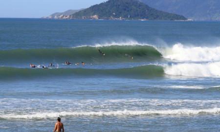 Joaquina pronta para o Floripa Surf Pro