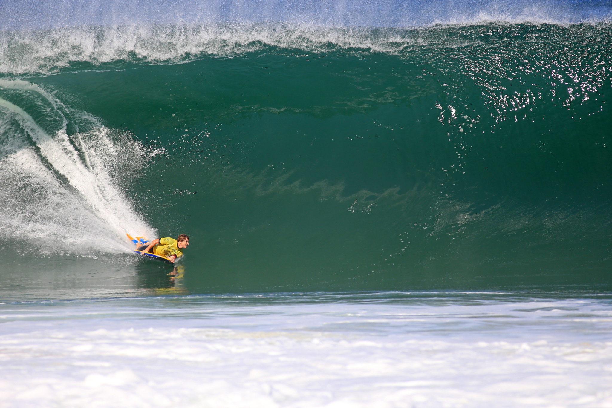 O sul-africano Iain Campbell é o atual campeão do Itacoatiara Pro - Foto: Tony D´Andrea/Itacoatiara Pro