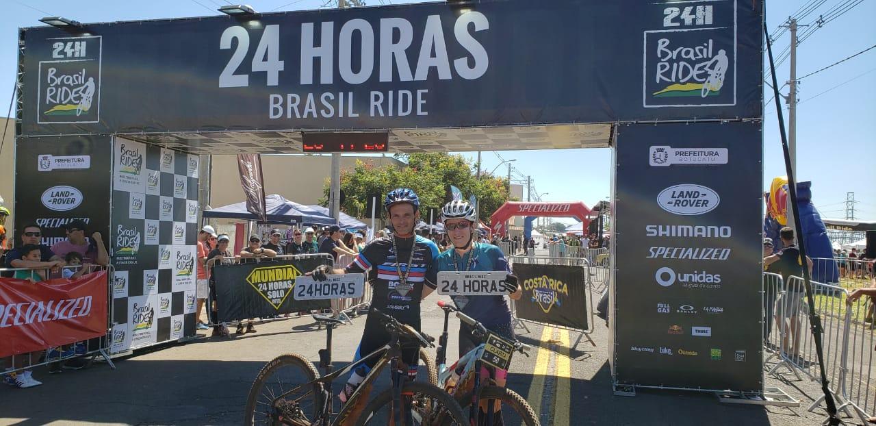 Carlos Henrique Paixão e Clarita Balestrin  (Ney Evangelista / Brasil Ride)