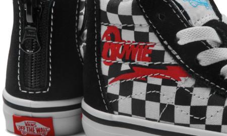 A Vans homenageia David Bowie com coleção limitada