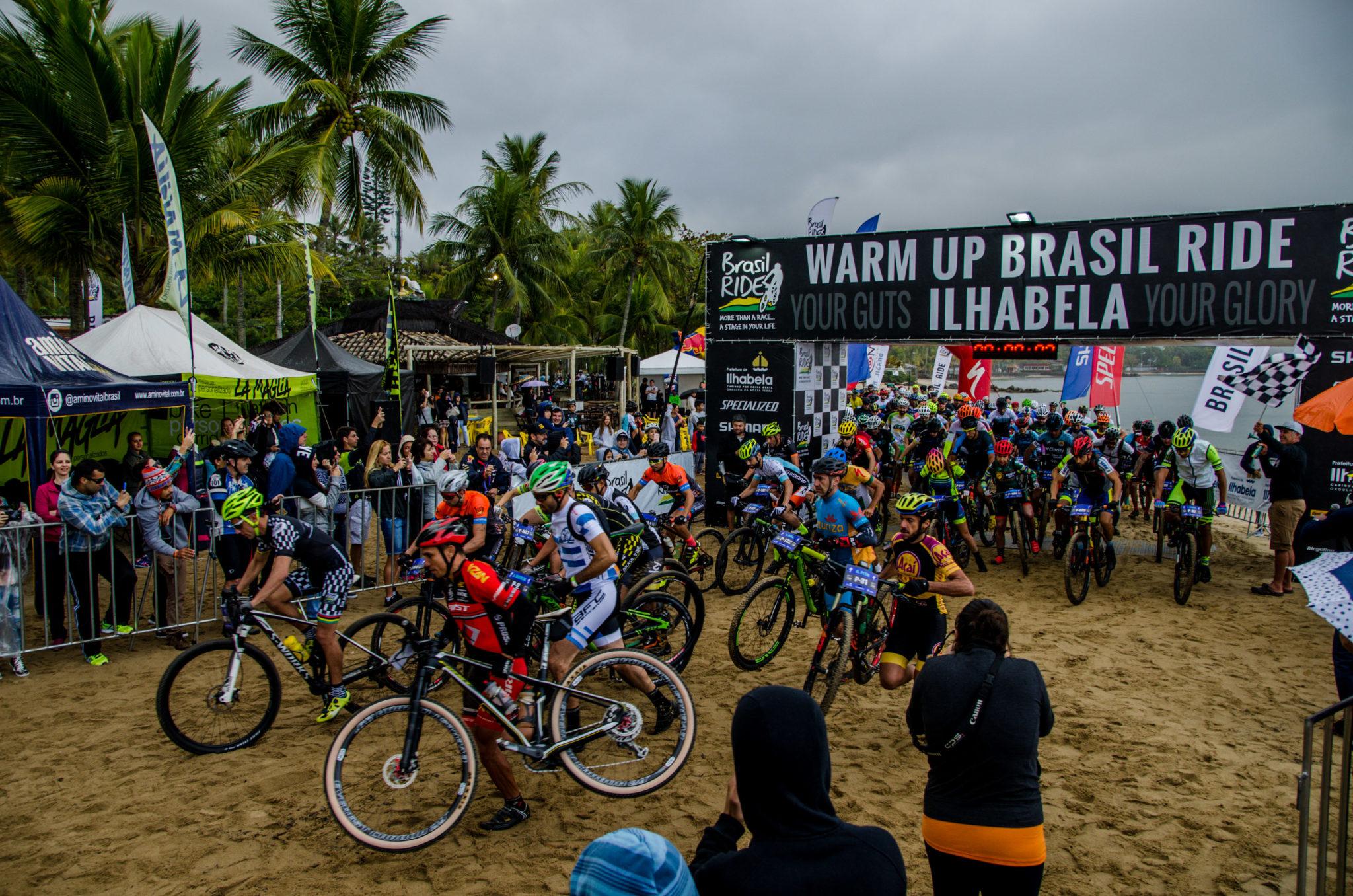 Largada na praia (Ney Evangelista / Brasil Ride