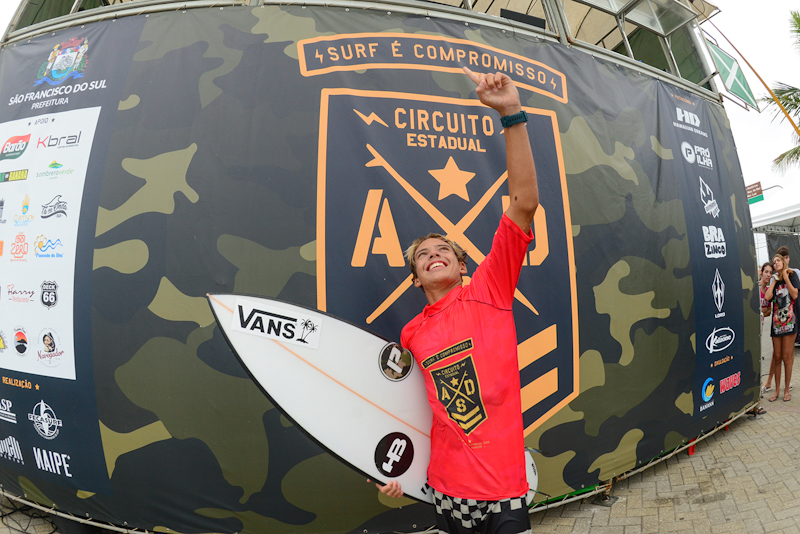 Noah Machado campeão da Sub14 do Circuito ADS 2019 / Fotos Marcio David