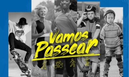 """Com início em Salvador o""""Vamos Passear"""" vai ter skate, além de outros esportes"""