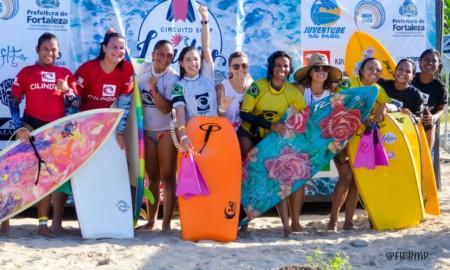 Muita adrenalina marca a 1ª Etapa do Circuito Feminino de Surf de Fortaleza