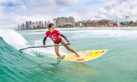 Praia da Tirica recebe pela primeira vez disputa de SUP Wave