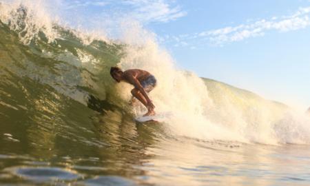 Eduardo Barrinuevo encara o Vicentino de Surf neste fim de semana