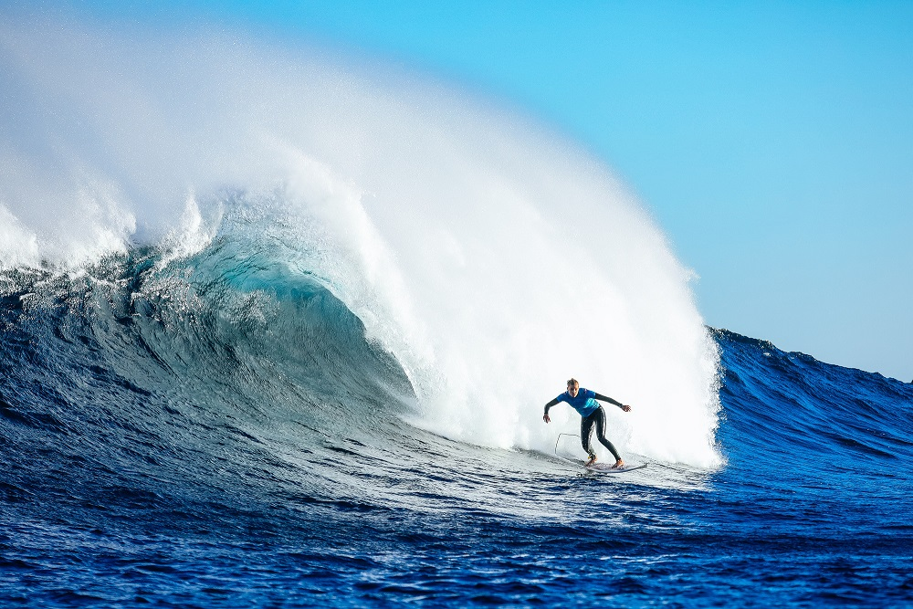 Lakey Peterson (EUA) (Kelly Cestari / WSL via Getty Images)