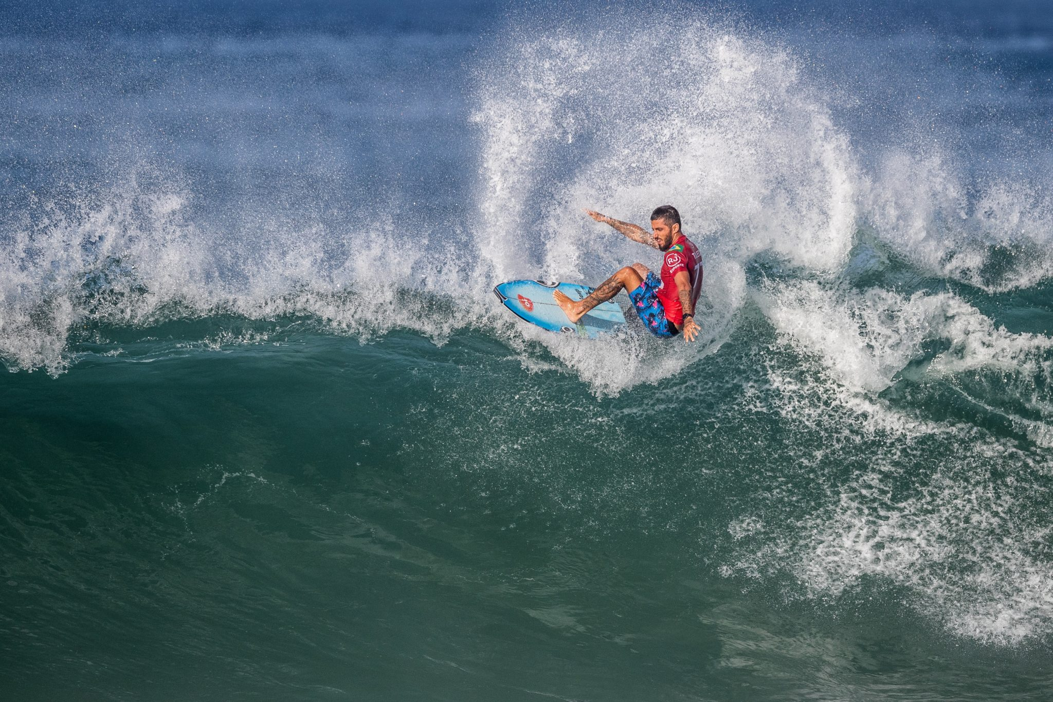 Filipe Toledo (SP) (Thiago Diz / WSL via Getty Images)