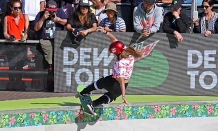 Sete atletas do Feminino, do Street, avançam para a semi no Dew Tour
