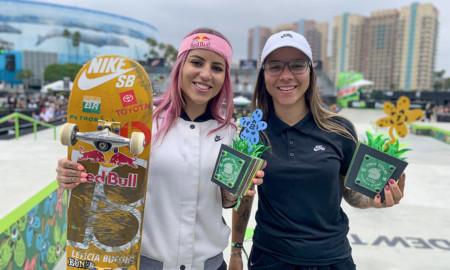 Brasil foi campeão, prata e bronze no Dew Tour, nos EUA