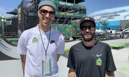 Edgard Vovô e Roger Mancha reforçam a equipe Olímpica de Skate
