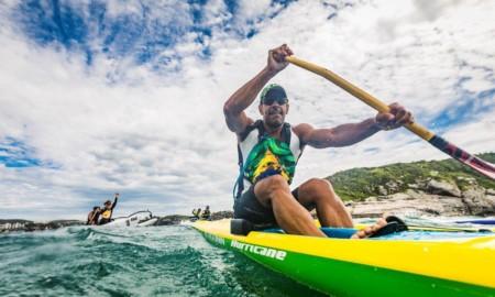 Rogério Mendes está confirmado no Aloha Spirit na canoa individual