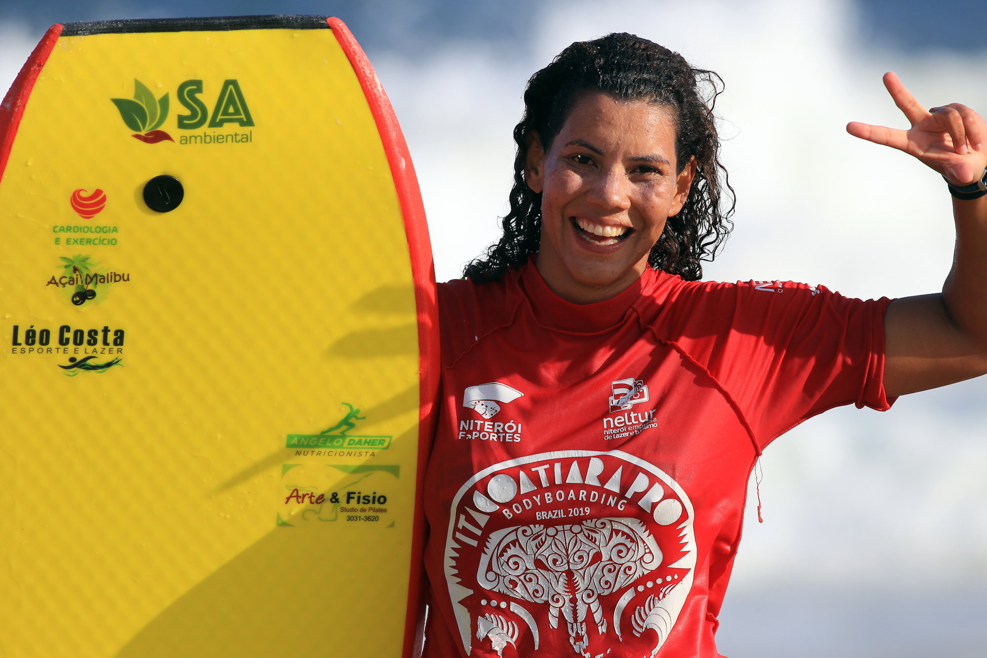 Maira Viana repete o feito de 2018 e fatura o bicampeonato / Foto Tony D´Andrea_Itacoatiara Pro