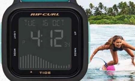 Rip Curl traz nova coleção de relógios na linha surf e style