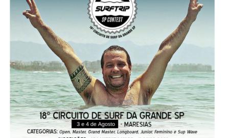 Adiada primeira etapa do Surf Trip SP Contest