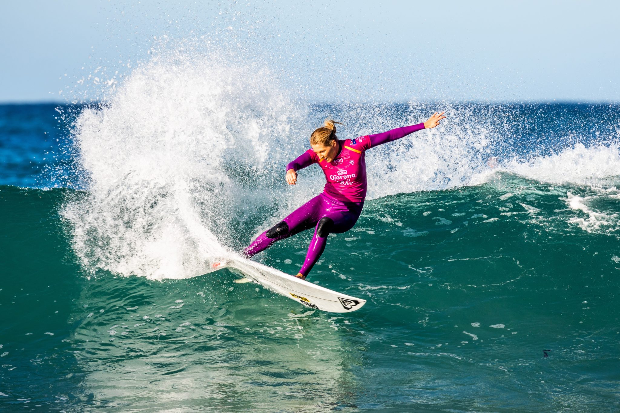 Stephanie Gilmore (AUS) (Pierre Tostee / WSL via Getty Images)