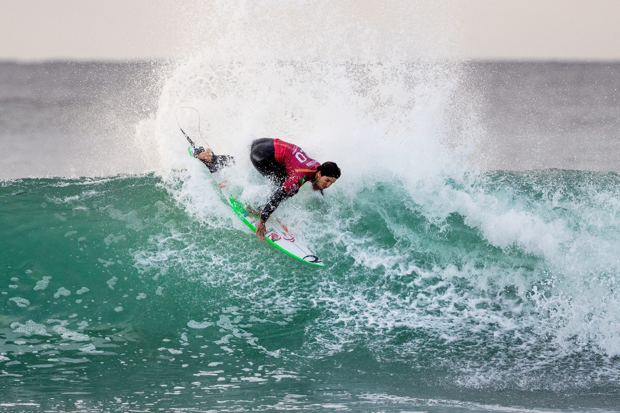 Gabriel Medina (SP) (Ed Sloane / WSL via Getty Images)