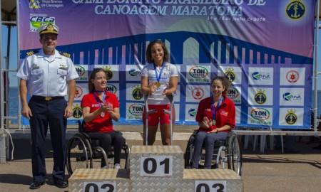 Nayara Falcão, campeã mundial de Canoagem Maratona, entra em ação
