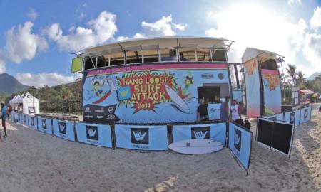 Praia de Perequê-Açu será o palco da 2ª etapa do Hang Loose SurfAttack