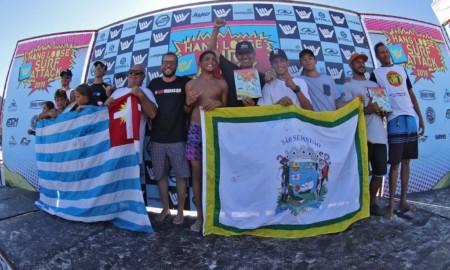 São Sebastião garante 5 vitórias e fatura a etapa inicial do Hang Loose Surf Attack
