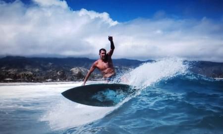 Maurício Orelhinha, das poderosas ondas havaianas para a 2ª etapa do Vicentino de Surf 2019