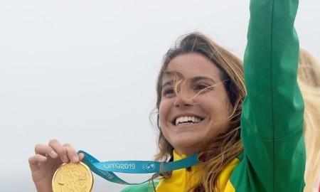 Chloé Calmon é ouro nos Jogos Pan-Americanos de Lima