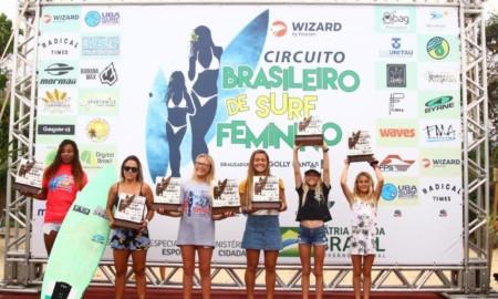 Monik Santos vence etapa do Brasileiro de Surf Feminino, em Ubatuba