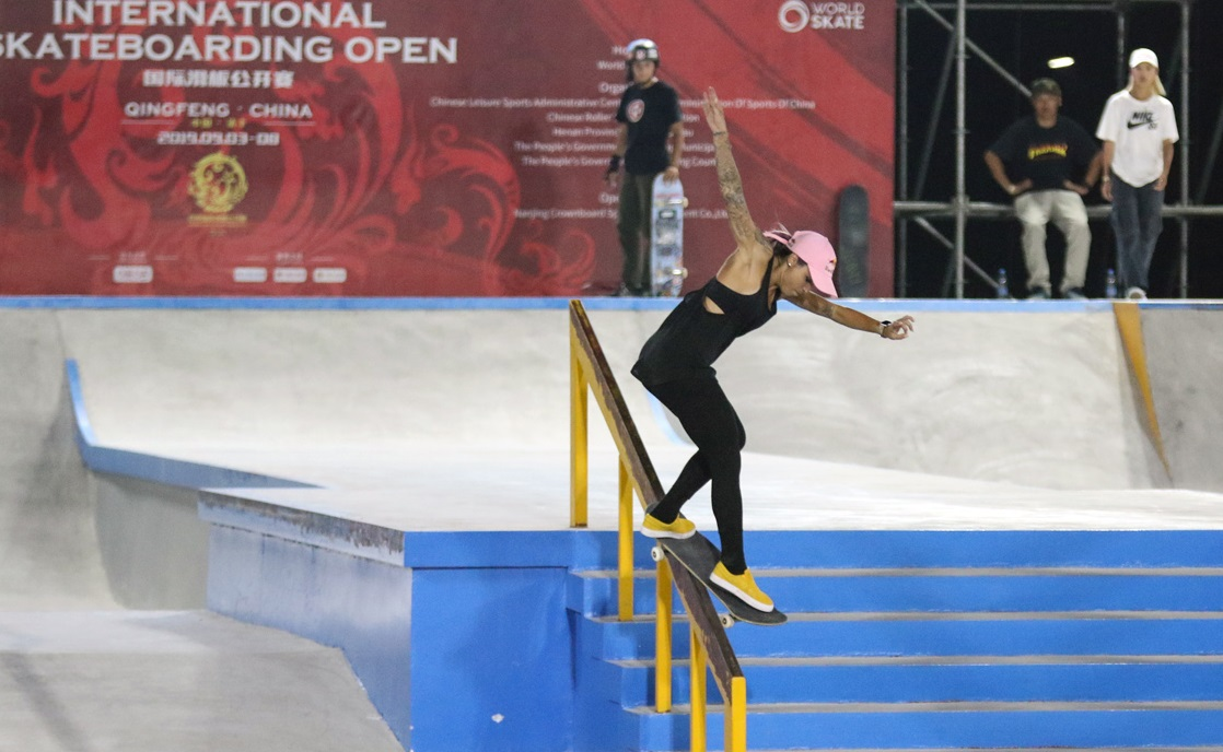 LAberto Internacional de Skate de Henan, na China / Foto Júlio Detefon