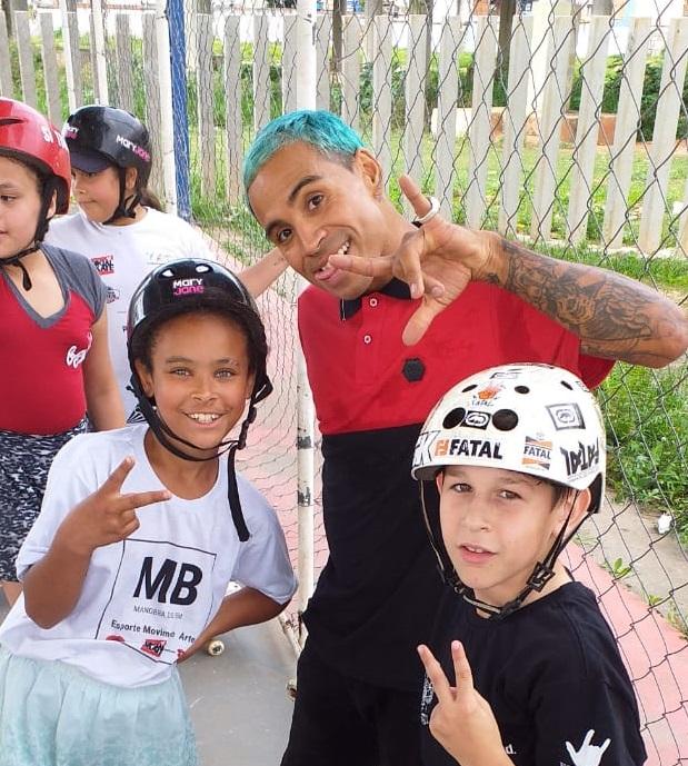Foto Divulgação ONG Social Skate