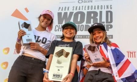 Japão faz a mala na final feminina no Mundial de skate Park em SP
