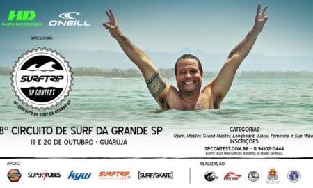 Inscrições seguem a todo vapor para o Surf Trip SP Contest