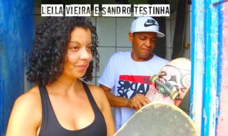 """Vitor Sagaz em """"Eu Boto Fé"""" na ONG Social Skate"""