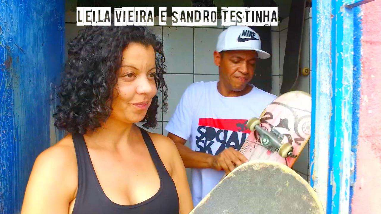 Sandro e Leila, imagem do videoclipe / Divulgação
