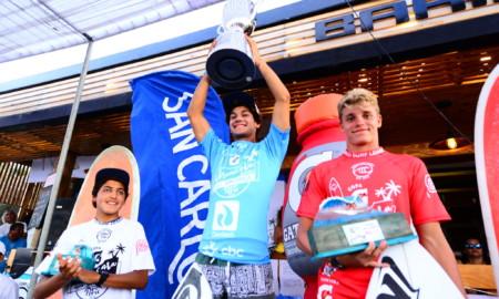 Raul Ríos e Sol Aguirre vencem o Máncora Junior Pro Peru