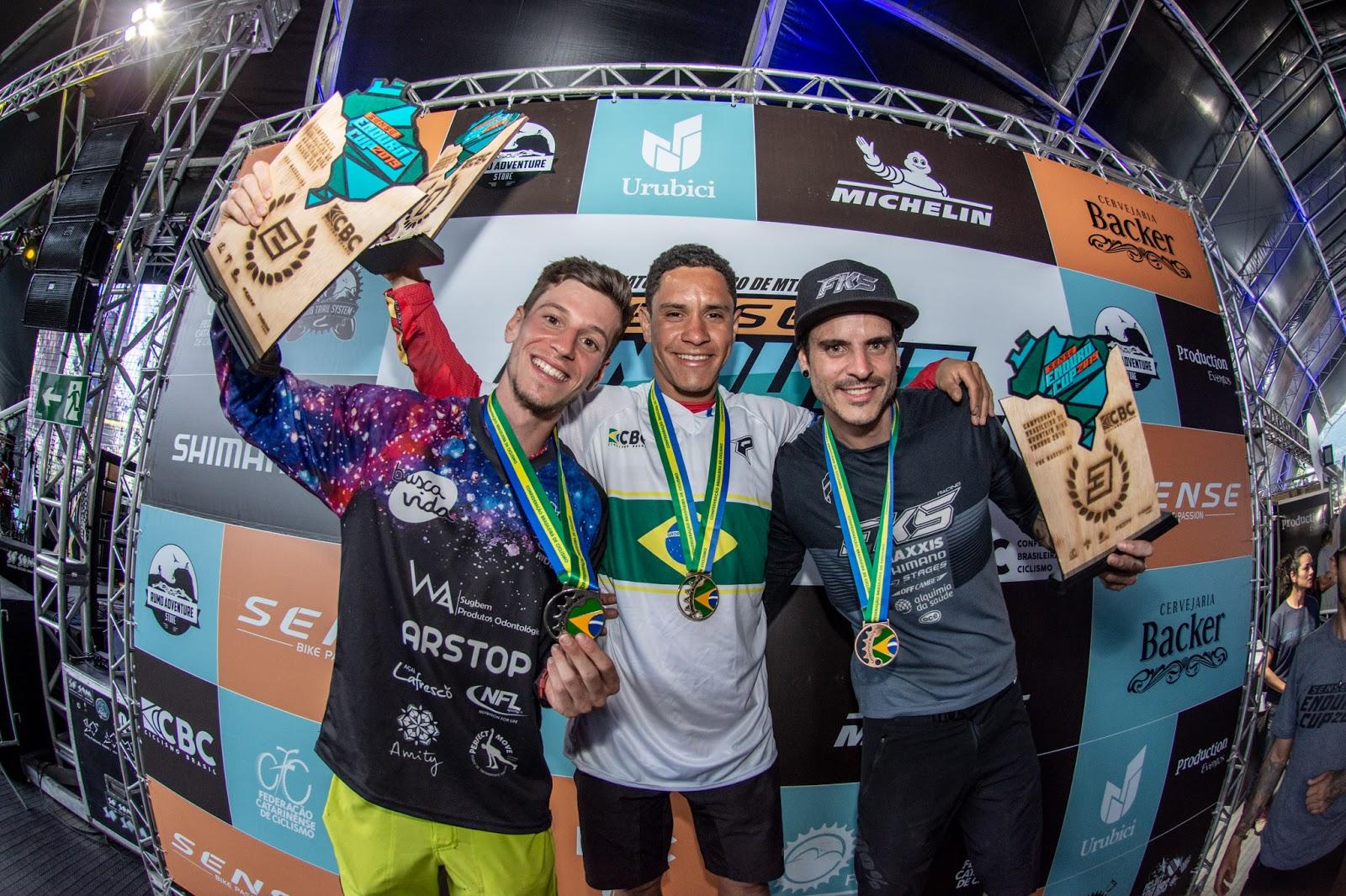 Bernardo, campeão brasileiro / Foto Cesar Delong