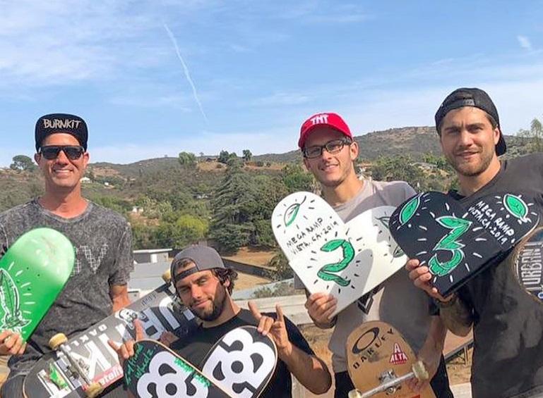 Bob, Aaron, Rony e Ítalo / Foto Divulgação