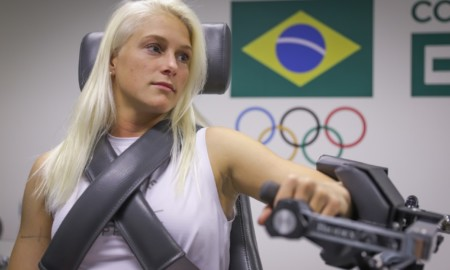 Tatiana Weston-Webb faz testes no COB e fala da expectativa de medalha em Tóquio