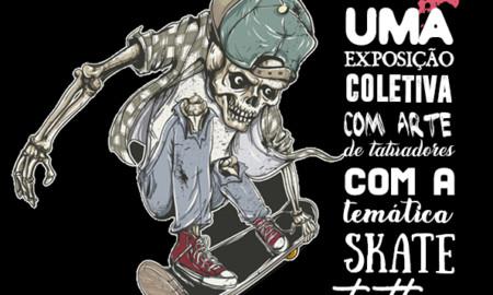 """Exposição """"Skate Arte Homenagem"""" será exibida na Expo Tattoo Atibaia"""