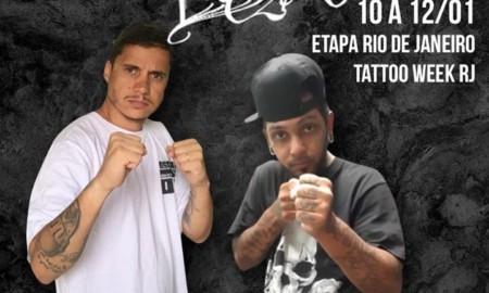 Quinta etapa – Desafio de Lettering – Tattoo Week Rio de Janeiro