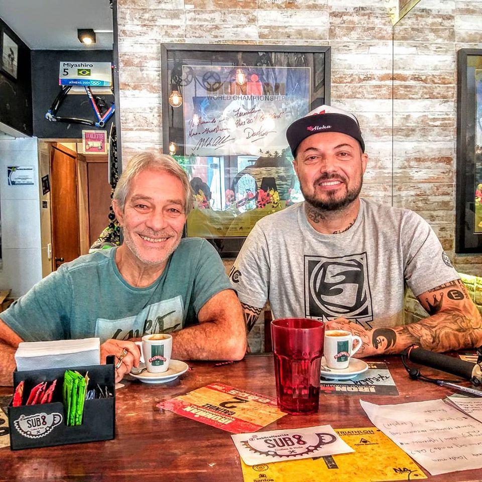 Edinho Leite Jr e Eduardo Castro / Foto Deep In Surf