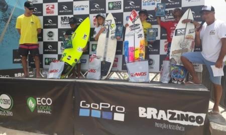 Kalani Robles e João Vitor terminam com destaques o Rip Curl Grom Search 2020