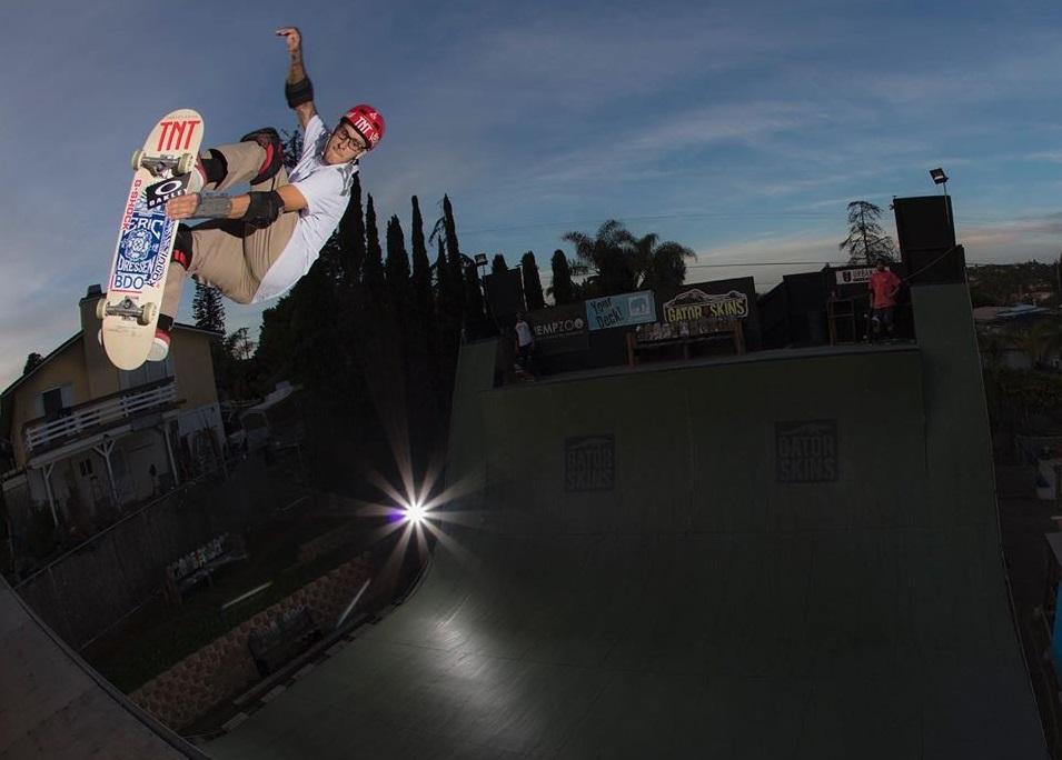 Rony Gomes em San Diego / Foto arquivo pessoal