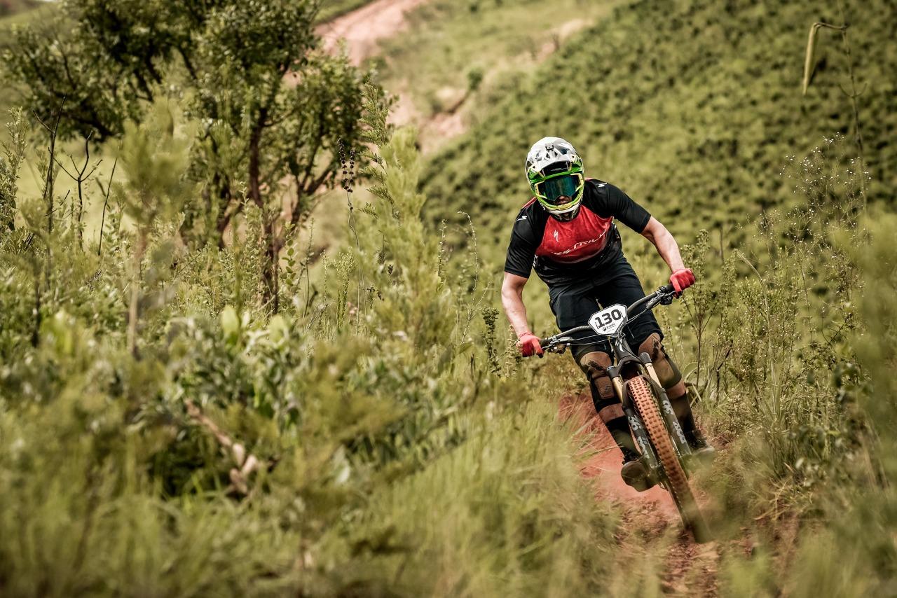 André Bretas no P.Cycle Enduro Series (Cesar Delong / Divulgação)