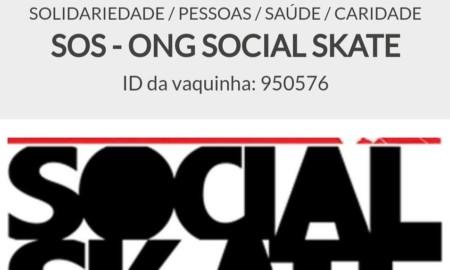 ONG Social Skate cria canal para ajudar as famílias cadastradas