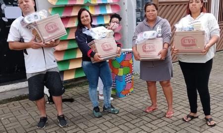 ONG Social Sakte contempla mais de 50 famílias com cestas básicas em Poá
