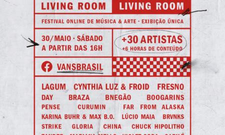 """A Vans apresenta o """"Vans Living Room"""", um festival online de música"""